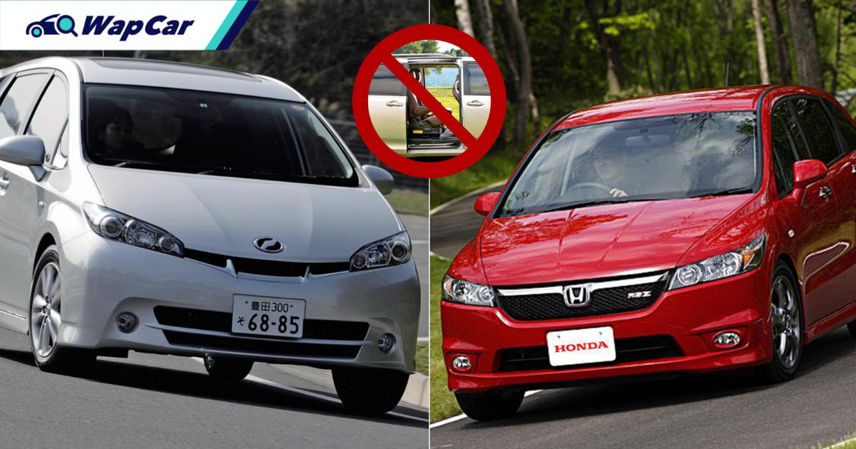 Poor door choices are what killed off the Toyota Wish and Honda Stream 01