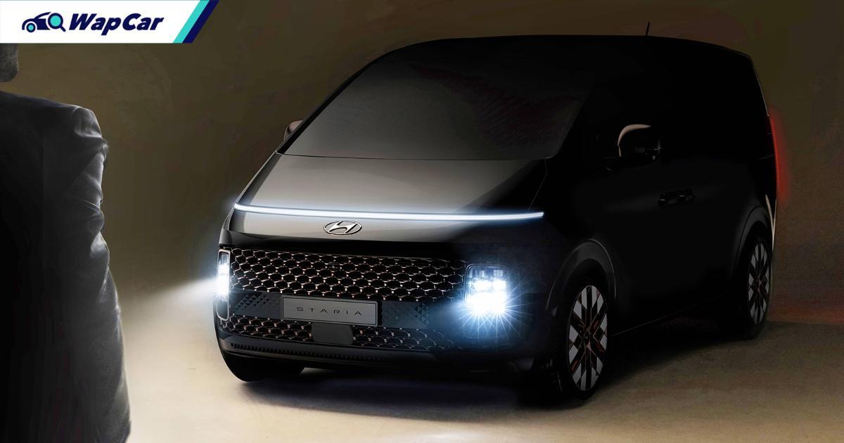 Hyundai Staria diacah - MPV hybrid 7 penumpang baharu, bakal ditawarkan di Malaysia? 01