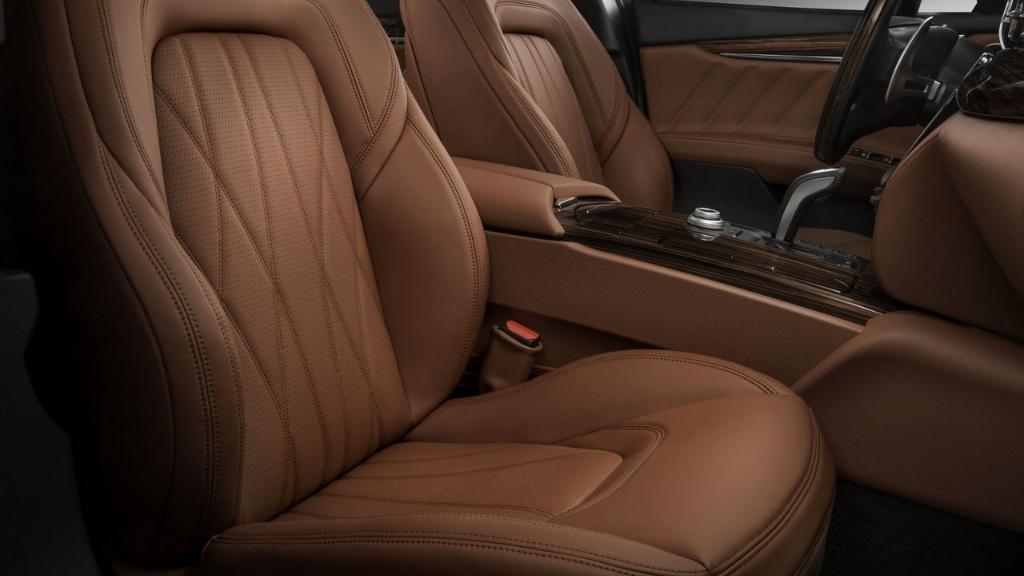 Maserati Quattroporte (2019) Interior 014