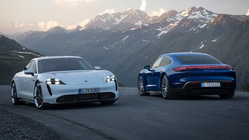Porsche Taycan debuts: 761 PS and 1,050 Nm, needs only 2-Speed transmission 02