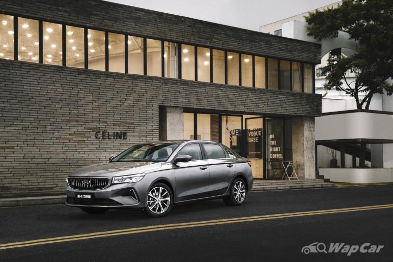 全新2021吉利帝豪在中国现已开放预售,售价约合57k令吉 02