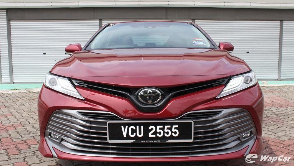 2019 Toyota Camry 2.5V Exterior 034
