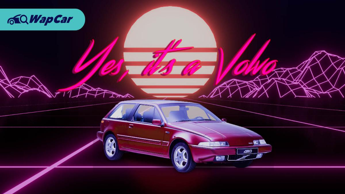 Volvo 480 – a Volvo with pop-up lights & doesn't look like a brick 01
