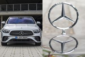 "2021 Mercedes E-Class W213 drops ""gunsight"" hood ornament, coming to Malaysia next year"