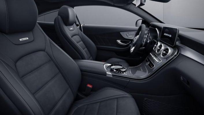 2018 Mercedes-Benz AMG C-Class Coupe C 63 S Interior 004