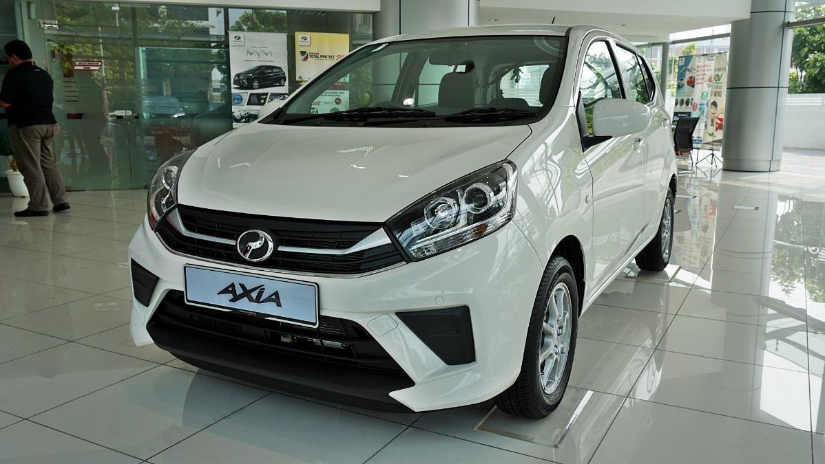2019 Perodua Axia GXtra 1.0 AT Exterior 001