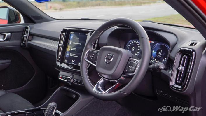 2021 Volvo XC40 Recharge T5 R-Design Interior 002