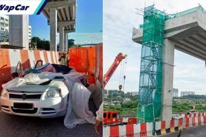Kes Proton Saga dihempap konkrit; pihak bertanggungjawab didenda RM180 ribu