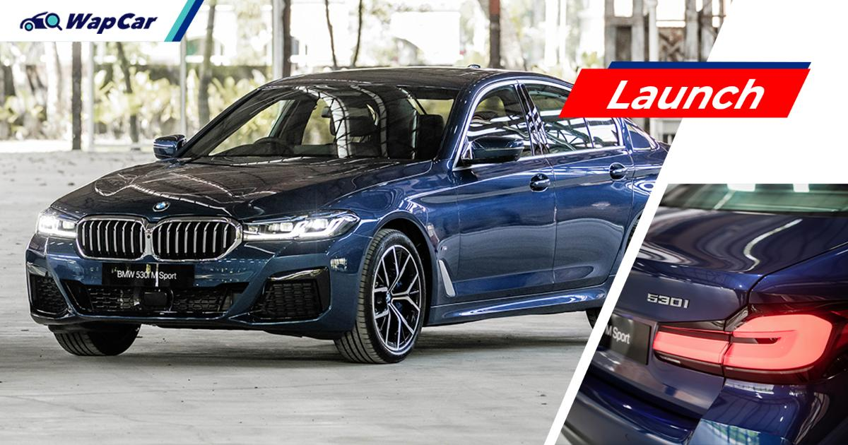 G30 2021 BMW 5 Series facelift (LCI) launched in Malaysia; from RM 334k 01