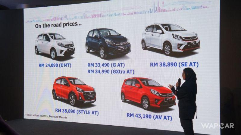 The New Perodua Axia 2019 Facelift So What S New Wapcar