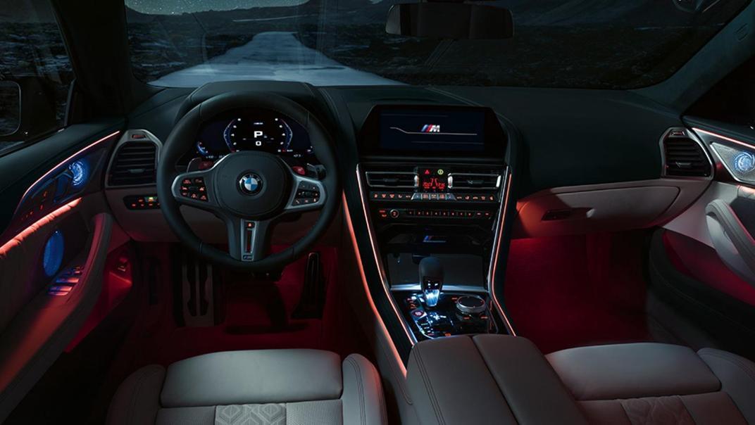 2020 BMW M850i xDrive Gran Coupe Interior 010