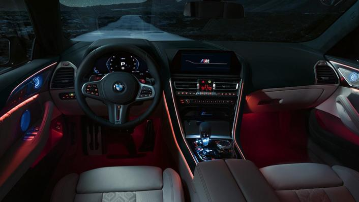 2020 BMW M850i xDrive Gran Coupe Interior 010