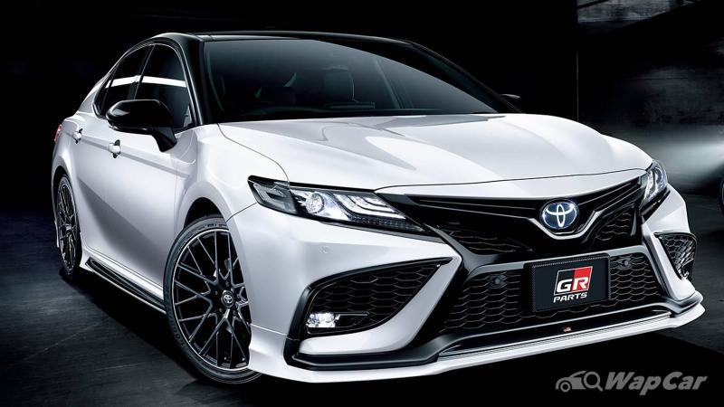 Japan's 2021 Toyota Camry gets RM 35k worth of GR parts - best daily next to GR Yaris? 02