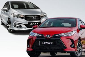 2021款Toyota Yaris vs Honda Jazz:老款的Jazz还值得购买吗?