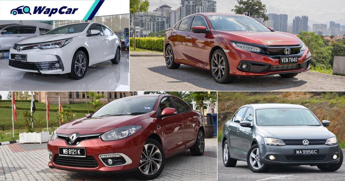 'Resale value' Honda Civic 2x ganda daripada Renault Fluence, sedan segmen C mana paling ada harga? 01
