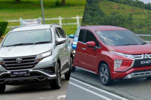 RM 91k untuk Mitsubishi Xpander atau Toyota Rush mana yang berbaloi?