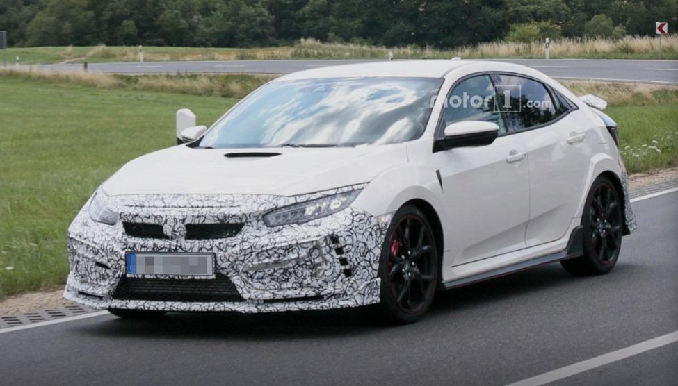Spy Shots: What's New for FK8 Honda Civic Type R facelift?    01
