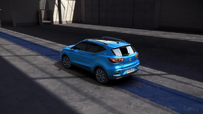 2020 MG ZS Upcoming Version Exterior 001