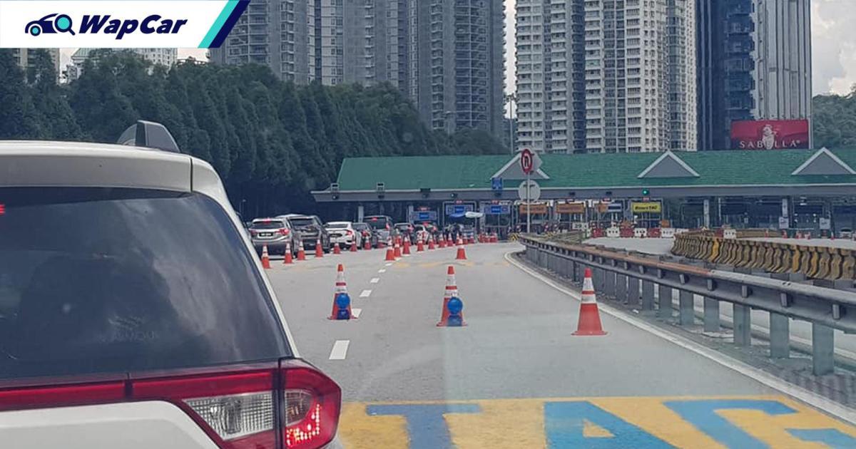 KL PDRM is holding a Best Roadblock Award! Jalan Duta roadblock wins Round 1 01