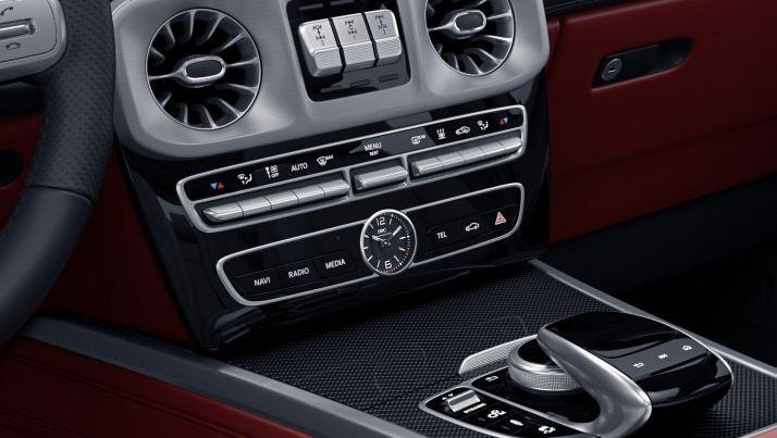 Mercedes-Benz AMG G-Class (2019) Interior 005