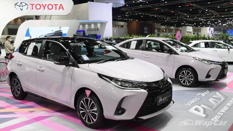 Chip supply cut: Honda City Hatchback drops behind Toyota Yaris in Thailand's May 2021 sales 02