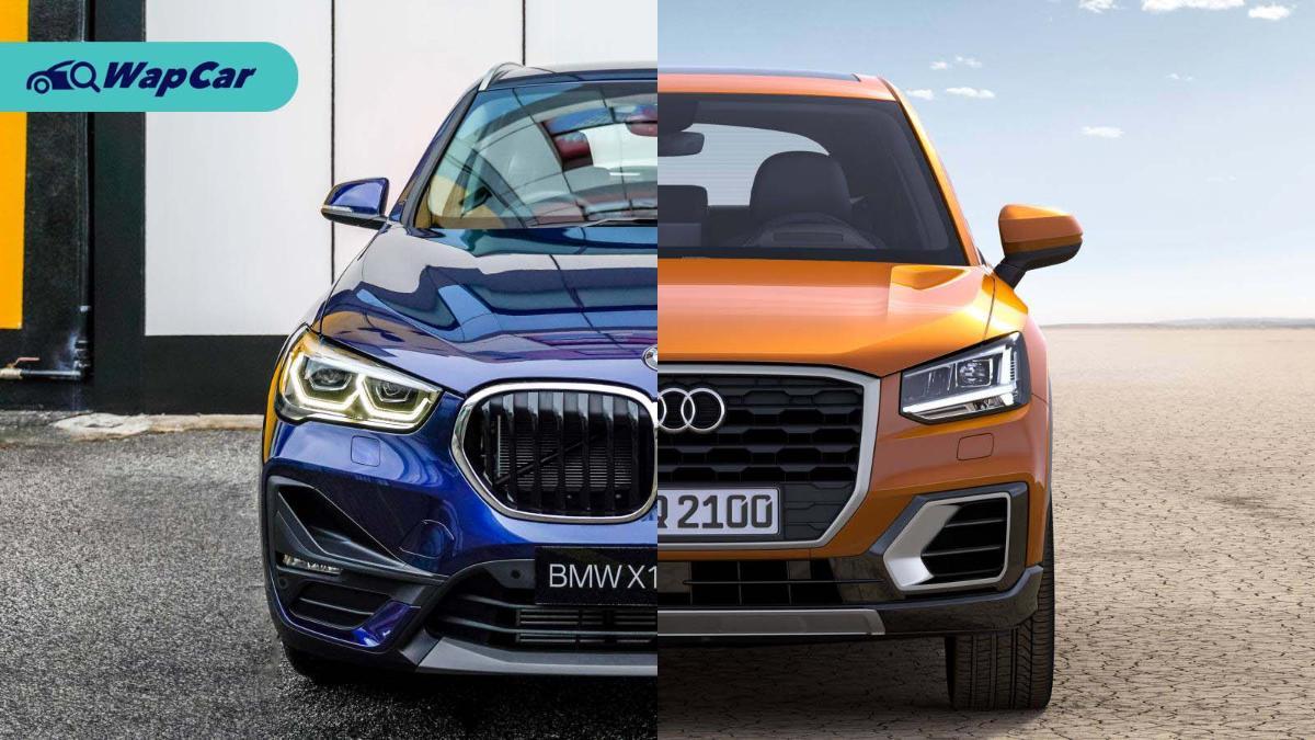 Comparison: BMW X1 sDrive18i vs Audi Q2 1.4 TFSI 01
