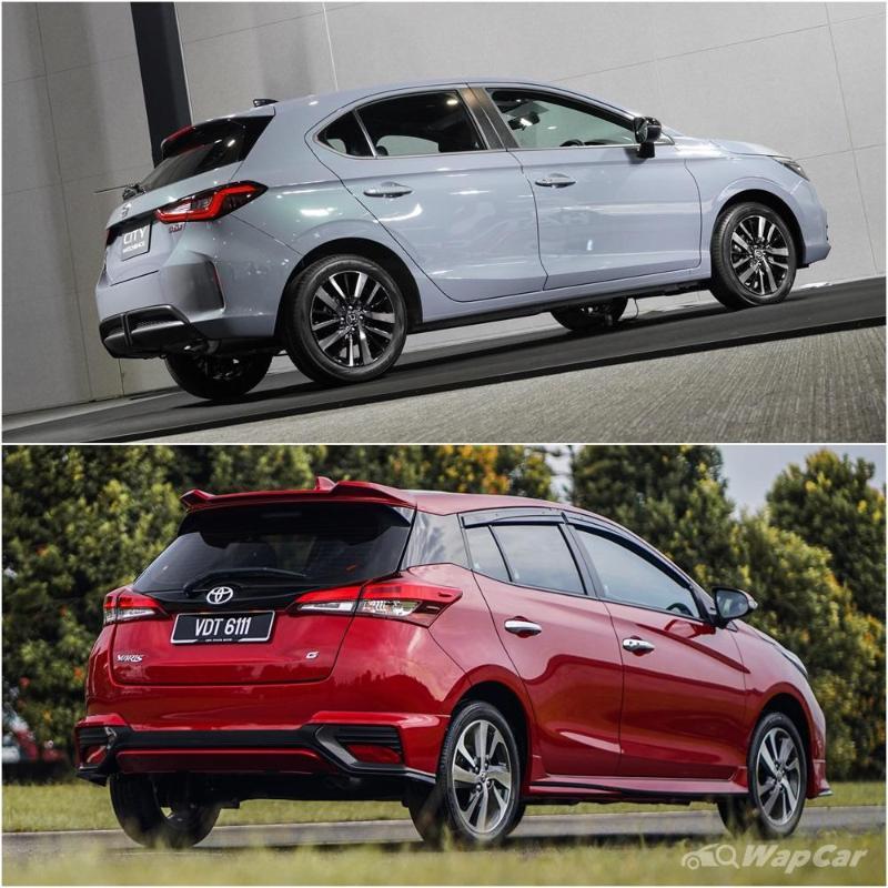 2021 Honda City Hatchback vs Toyota Yaris facelift – Should you wait or not? 02