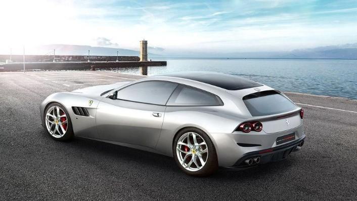 Ferrari GTC4Lusso T (2017) Exterior 007