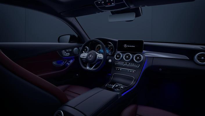 2020 Mercedes-Benz C-Class Coupe C 200 AMG Line Interior 004