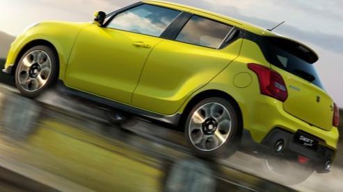 Suzuki Swift Sport (2014) Exterior 006