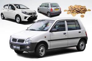 "The evolution of Perodua ""kosong"" spec cars"