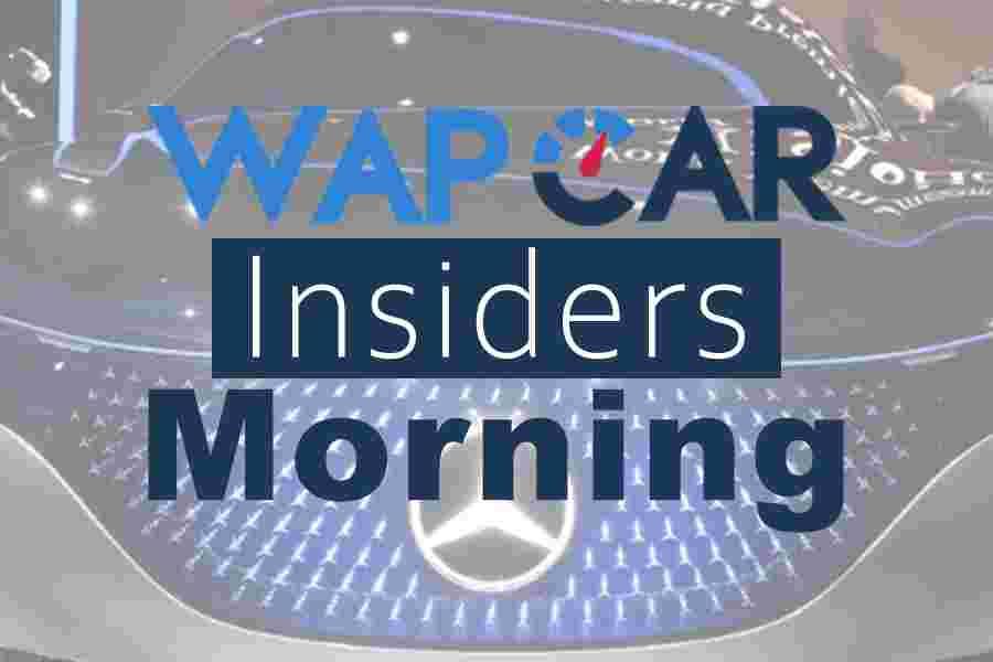Wapcar Morning Insiders (Sep. 12, 2019)