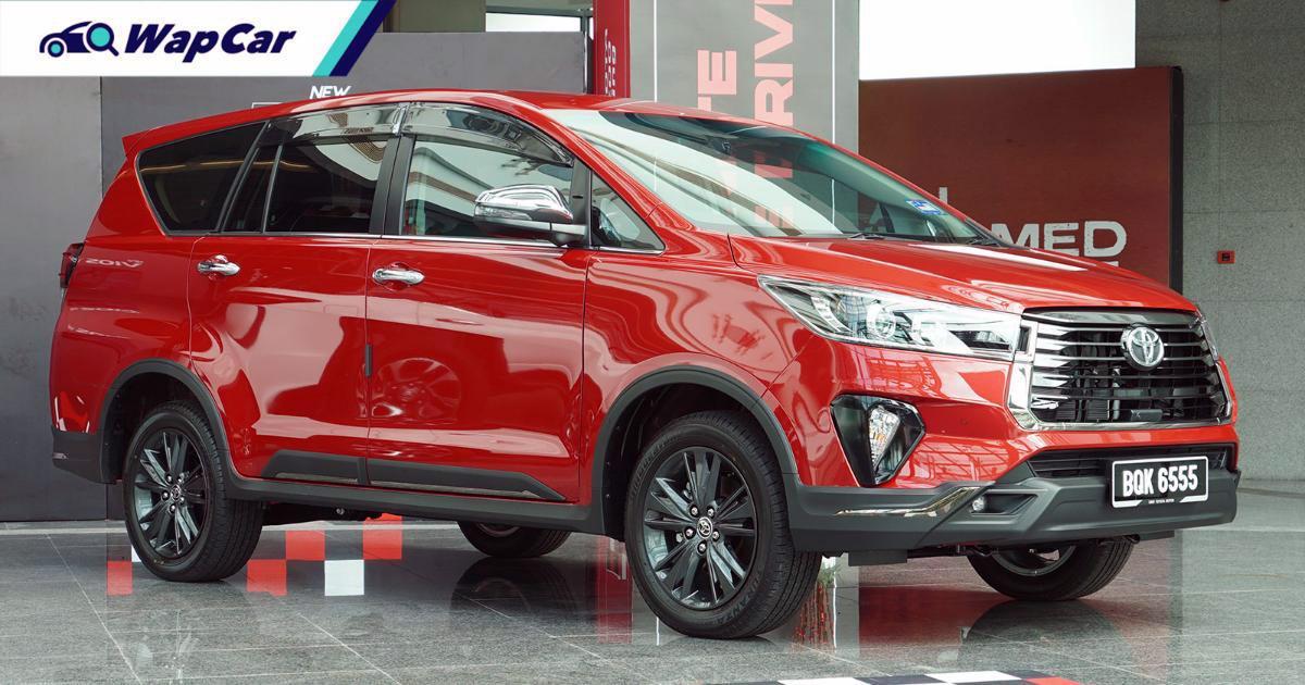 Closer Look: 2021 Toyota Innova 2.0 X facelift, worth the extra RM 2.5k? 01