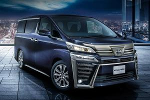 2021 Toyota Vellfire updated in Japan – Down to only 3 variants!