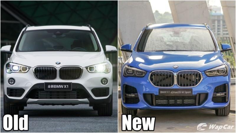 F48 BMW X1 - New vs old