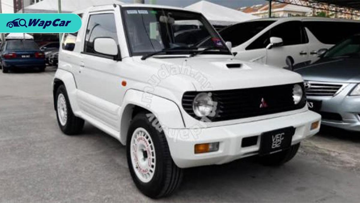Barang Rare: Apa kata anda tentang Mitsubishi Pajero Mini 700cc? 01