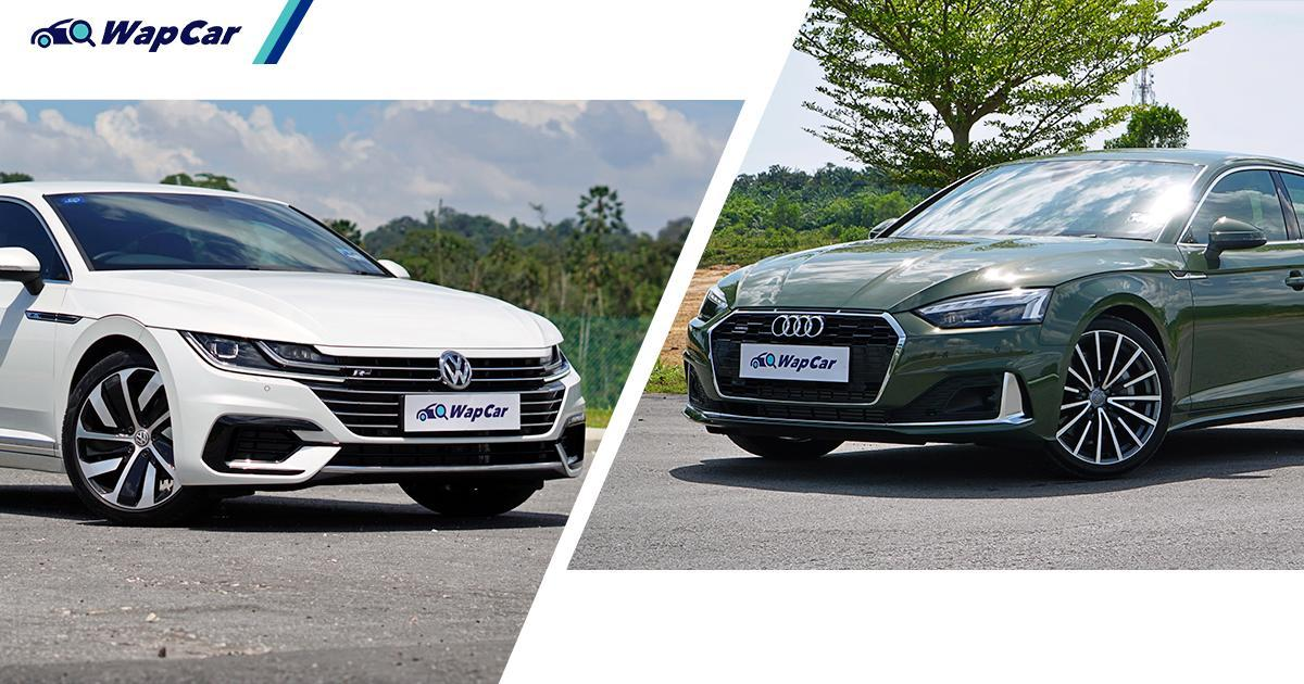 Volkswagen Arteon is RM 130k cheaper than the Audi A5 Sportback, but better? 01