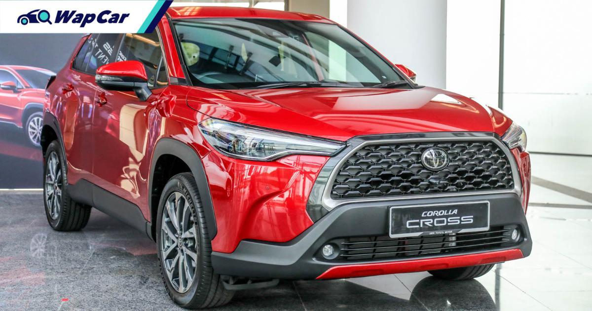 Toyota Corolla Cross 1.8V sampai juga di Malaysia, namun penghantaran ditunda sebab PKP 3.0 01