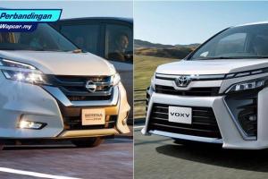 Nissan Serena vs Toyota Voxy: MPV manakah yang patut anda beli?