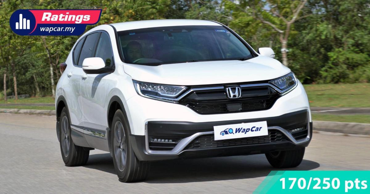 Ratings: 2020 Honda CR-V 1.5 TC-P 4WD - Still an excellent all-rounder 01