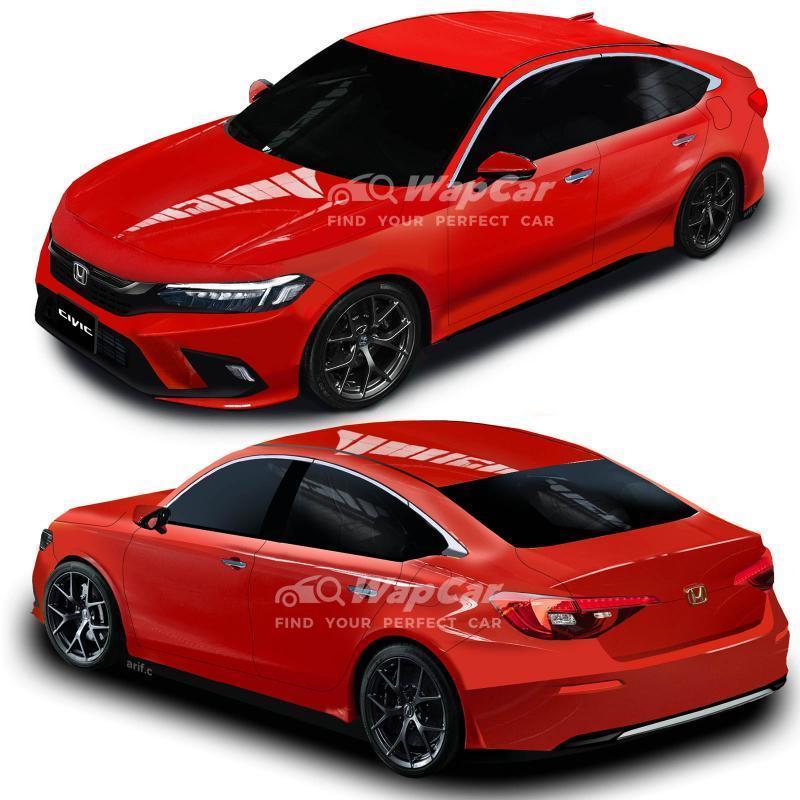 Honda Civic 2022 generasi baru prototaip akan didedahkan! Malaysia bakal terima awal? 02