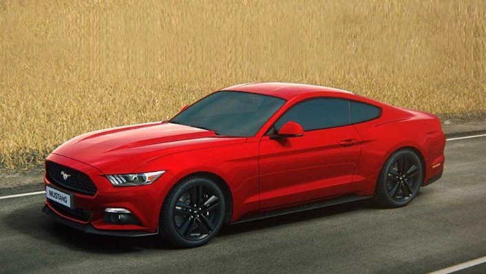 Ford Mustang (2018) Exterior 001