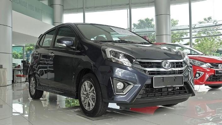 2018 Perodua Axia SE 1.0 AT Exterior 003