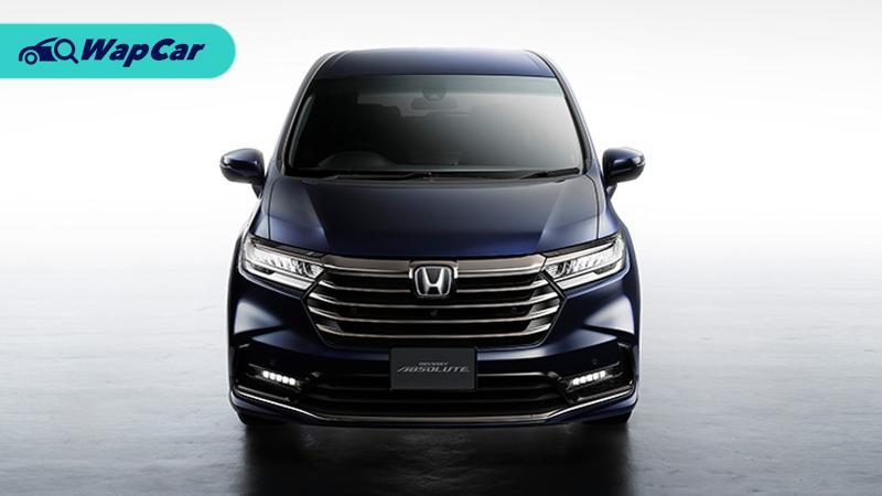Honda Odyssey 2021: Kini dengan brek parkir elektronik (EPB) dan pintu gelangsar dengan kawalan isyarat 01