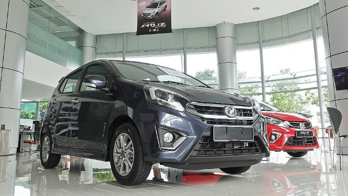 2018 Perodua Axia SE 1.0 AT Exterior 009