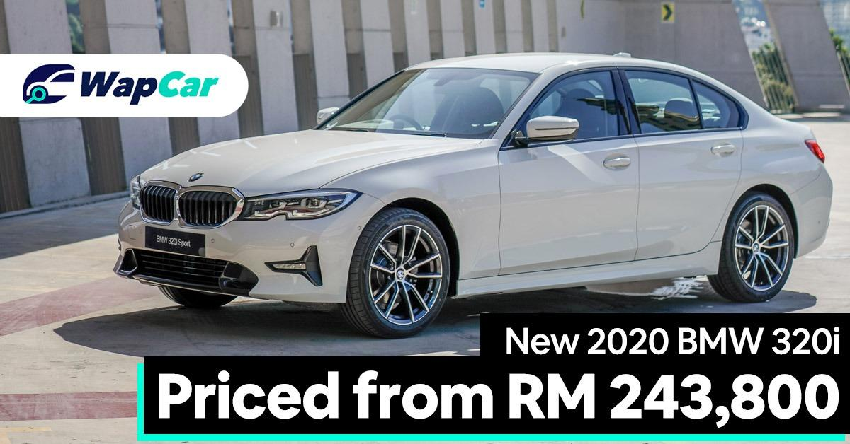 New 2020 G20 BMW 320i launched in Malaysia – priced from RM 243,800 01