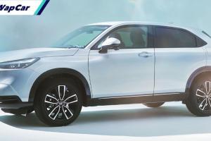 Rekaan tegap, ciri moden: Honda HR-V 2022 serba baru rasmi didebut!