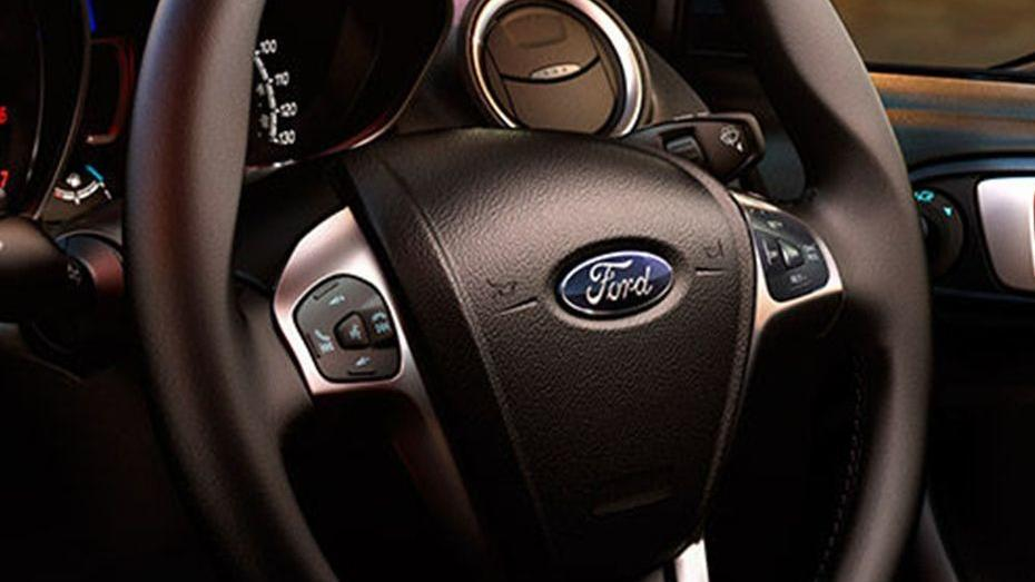 Ford Fiesta (2017) Interior 002