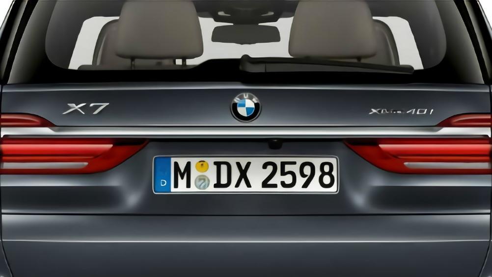 BMW X7 (2019) Exterior 013