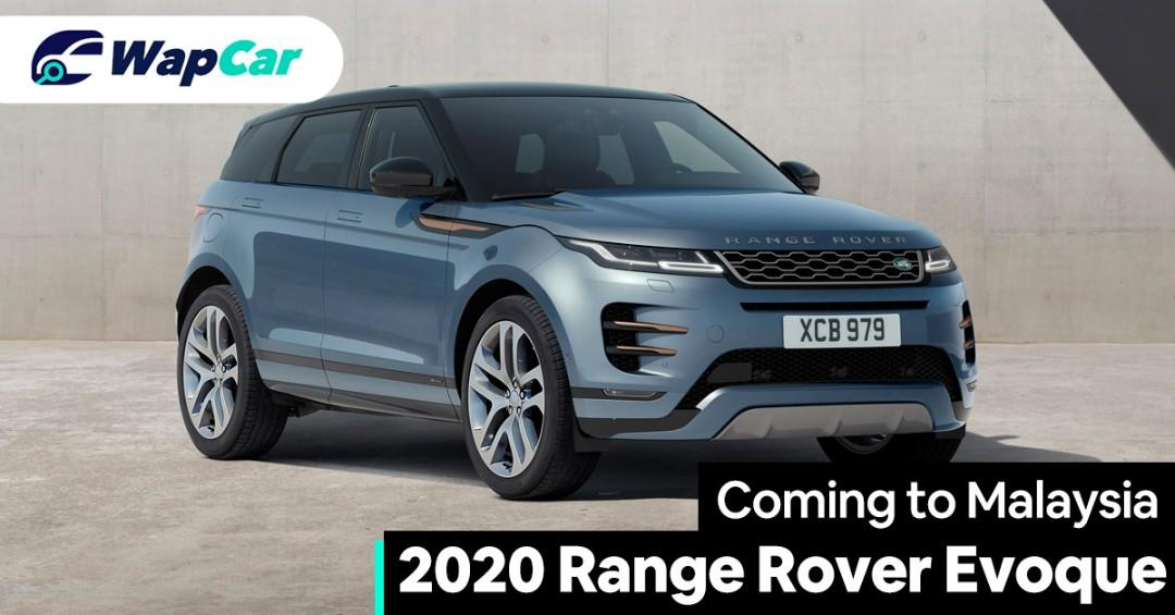2020 Range Rover Evoque launched in Malaysia